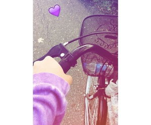 bicycle, cycling, and girly image