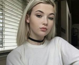 tumblr, blonde, and grunge image