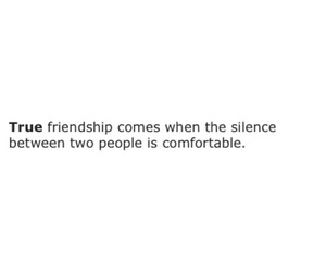comfortable, friendship, and quote image