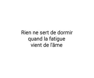 fatigue, francais, and âme image