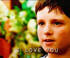 love, josh hutcherson, and I Love You image