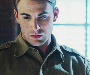actor, handsome, and captain america image