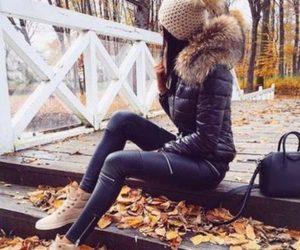fashion, winter, and jacket image
