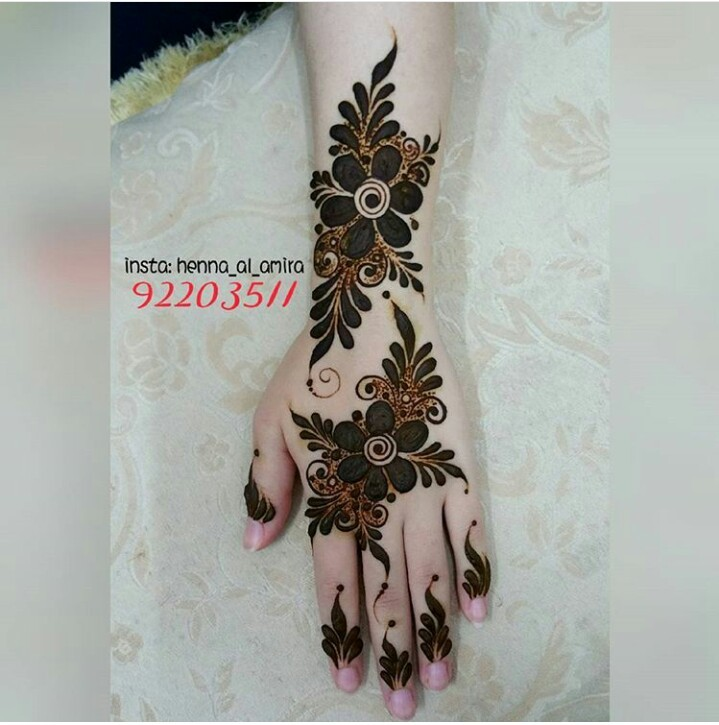 42 Images About Henna Mehendi On We Heart It See More About Henna