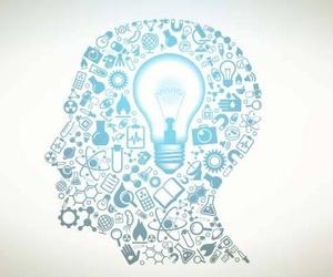 brain, idea, and solution image