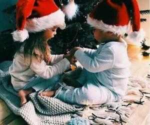 christmas, baby, and child image