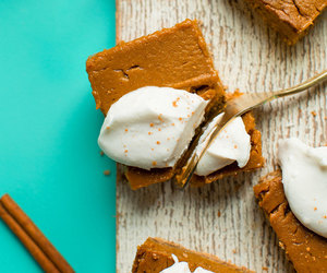 dessert, food, and pumpkin image