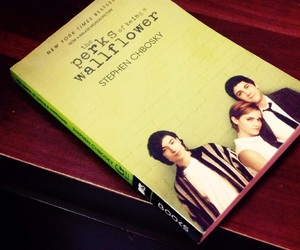 book love and perks of being a wallflower image