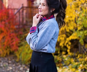autumn, beauty, and ootd image