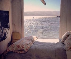 bedroom and sea image