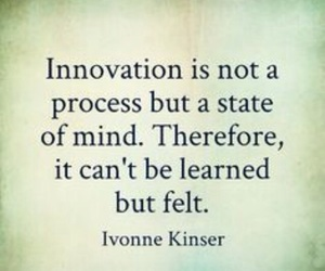 quote and innovation inspiration image