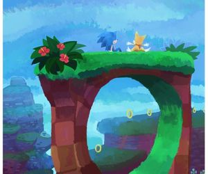 sega, Sonic the hedgehog, and green hill zone image