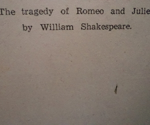 books, romeo and juliet, and tragedy image