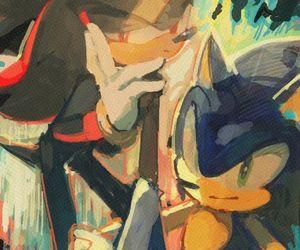 sega, Sonic the hedgehog, and shadow the hedgehog image