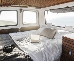 bed and roadtrip image