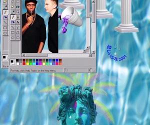 jj, ksi, and vaporwave image