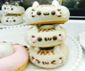 cute, food, and donuts image