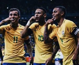 neymar, neymar jr, and philipe coutinho image