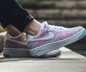 airforce, nike, and flyknit image
