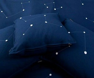alone, blue, and stars image