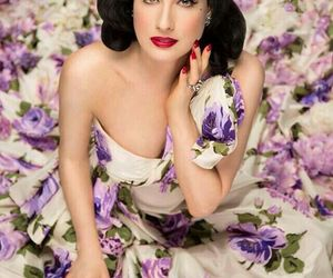 dita, purple, and style image