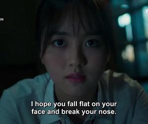 Korean Drama, kdrama, and kim so hyun image