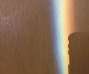 alternative, shadow, and rainbow image
