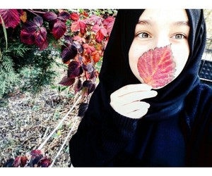 beautiful, gril, and hijab image