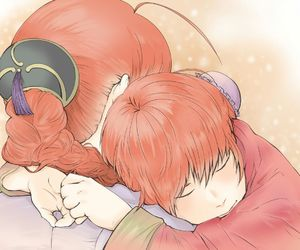 gintama, kagura, and kouka image