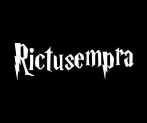 harry potter, spells, and rictusempra image