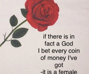 girl power, god, and rose image