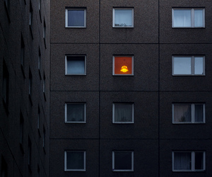 architecture and light image