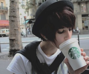 coffee, starbucks, and tomboy image