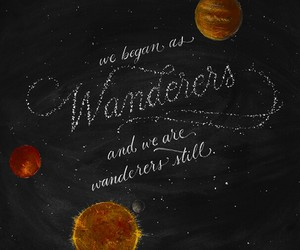 art, chalkboard, and quote image