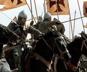 crusades, knight, and medieval image