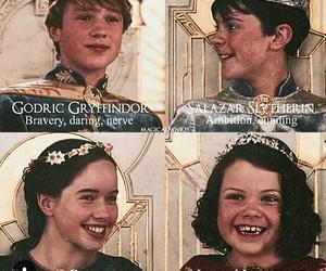 harry potter, narnia, and hogwarts image