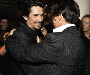 christian bale and johnny depp image