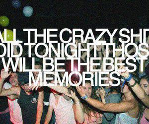 party, memories, and text image