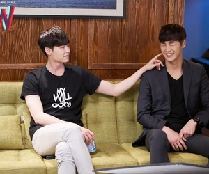 kdrama, two worlds, and w image