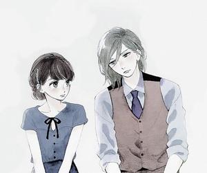 manga, couple, and shoujo image