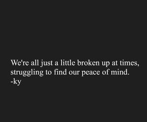 black and white, broke, and broken image