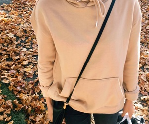 fall, hoodie, and autumn image