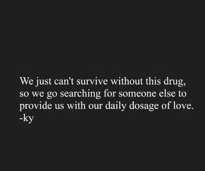 addict, addicted, and depressed image