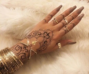 nails, henna, and style image