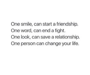 life, look, and smile image