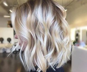 beauty, hair, and blond image