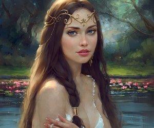 art, fantasy, and beauty image