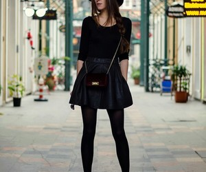 skirt, fashion, and hat image