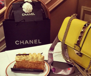 chanel, fashion, and cake image