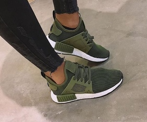 adidas, green, and shoes image